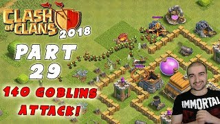 Clash of Clans Walkthrough: #29 - 140 GOBLINS ATTACK! - (Android Gameplay Let's Play) - GPV247