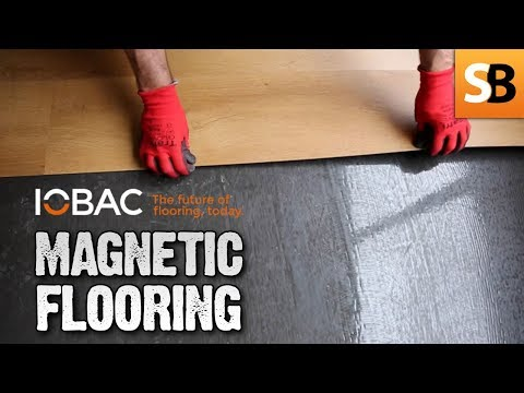 IOBAC Magnetic Flooring System - Perfect for LVT