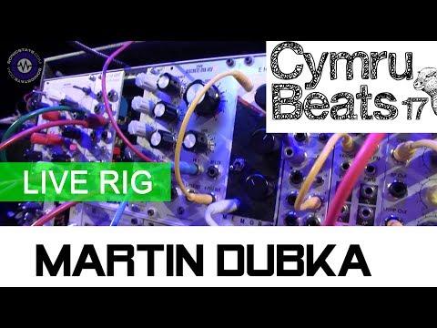 Martin Dubka Rig at Cymru Beats 17