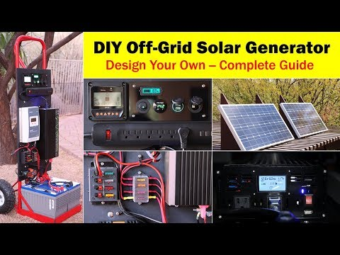 High-Capacity Off-Grid Solar Generator (rev 4) -- Wiring ... on