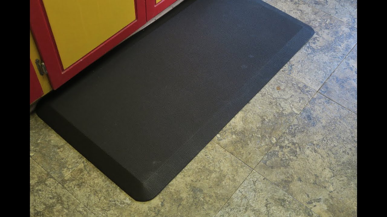 Kitchen Fatigue Floor Mat Anti Fatigue Floor Mat Youtube
