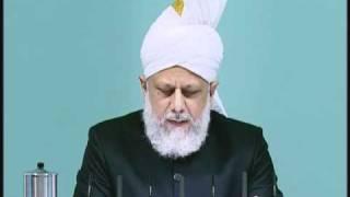Friday Sermon: 1st October 2010 - Part 1 (Urdu)