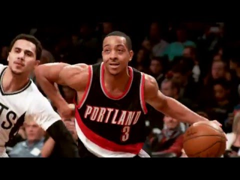 C.J. McCollum Receives Most Improved Player Award