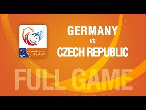 Germany vs Czech Republic | QUARTERFINALS | LOTTO EUROVOLLEY POLAND 2017