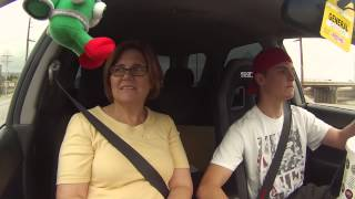 mom rides in 300whp wrx with ewg