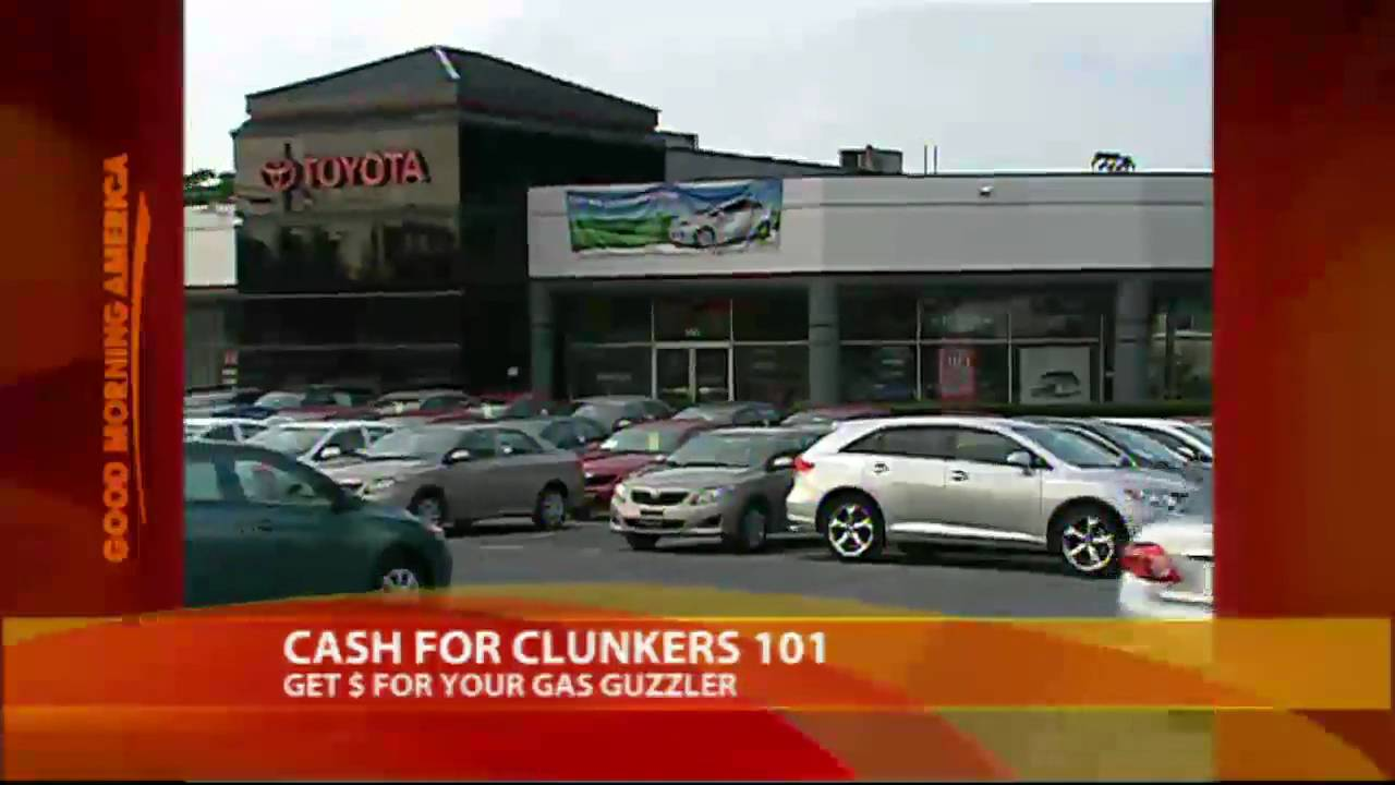 Cash For Clunkers >> Get Cash For Clunkers