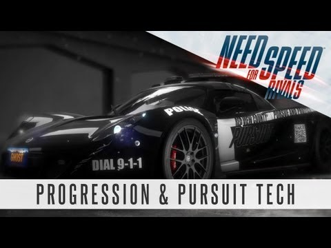 Need for Speed Rivals Gameplay - Progression & Pursuit Tech Feature