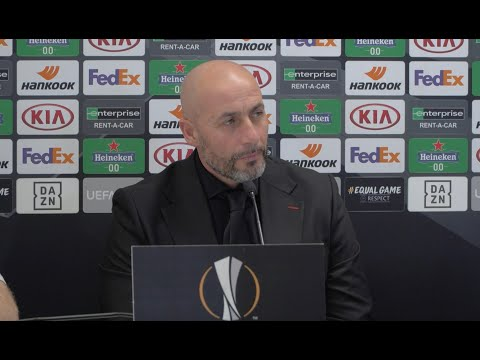 Rapid Wien v Dundalk FC   UEFA Europa League MD3 Press Conference