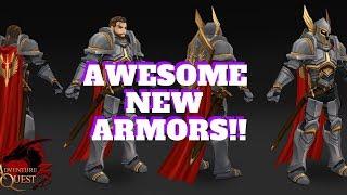 AQ3D New Moglomancer, Paladin And Ninja ARMORS! AdventureQuest 3D