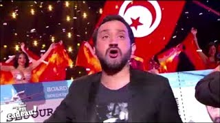 Tunisie - Ambiance Tunisienne avec Cyril Hanouna en direct sur C8