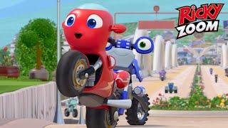 Ricky Zoom Türkçe | Çift Bölümler: Tek Keli̇meyle Muhteşem + | Çizgi Filmleri Çocuklar Için