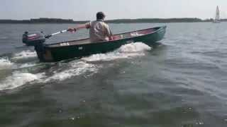 Old Town Canoe + Yamaha Malta 3HP II