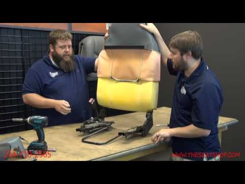 2000 - 2008 Ford Econoline Top and Bottom Seat Cover Install Video