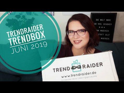 TrendRaider Trendbox Urban Jungle | Unboxing Juni 2019 | Produktvielfalt In Einer Box ♡