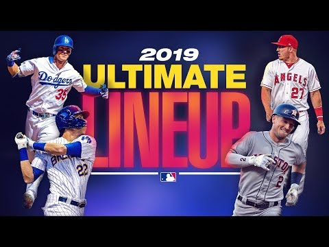 The 2019 MLB Ultimate Lineup | Mike Trout, Cody Bellinger, Christian Yelich headline 2019 team