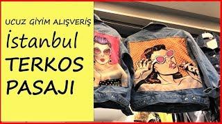 TERKOS PASAJI İstanbul I Ucuz Giyim #AlışverişGünlükleri4