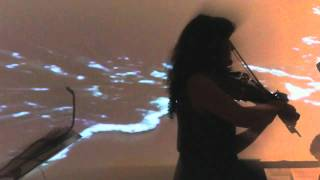 Daquqi LIVE - viola, double bass, piano, trumpet and projections