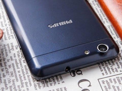 Видео обзор смартфона Philips Xenium V526 8 Гб синий