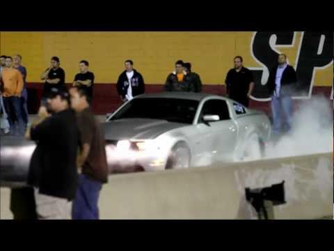 2012 Mustang GT 5.0 Supercharged Magnacharger Supercharger Burnout & 10.89 @ 129 pass