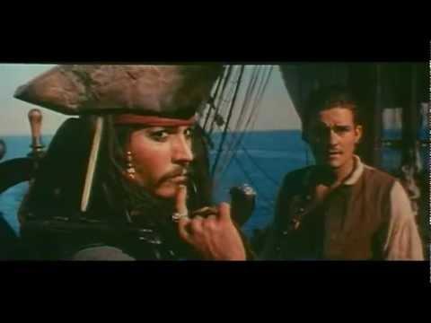 """Pirati dei Caraibi """"La Maledizione della Prima Luna"""" - trailer ita"""