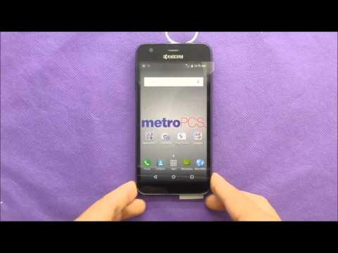 No hard reset available for Kyocera Hydro Wave Metro pcs\T-mobile