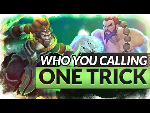 WHO YOU CALLING A ONE TRICK?!? - Trick2G