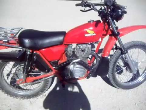 77 honda ct 125 excellent rare ultimate little trailey for Honda in ct