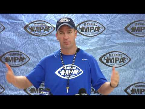 Manning Camp Peyton Manning