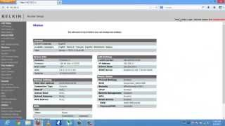 04. How To Configure Wireless Settings On Belkin Router