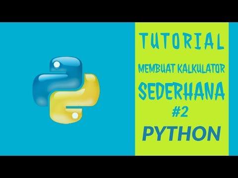 Cara Membuat Aplikasi Dengan Bahasa Pemrograman Python