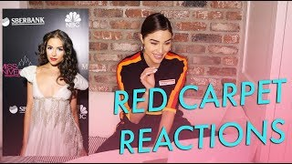 Red Carpet Reactions | Olivia Culpo