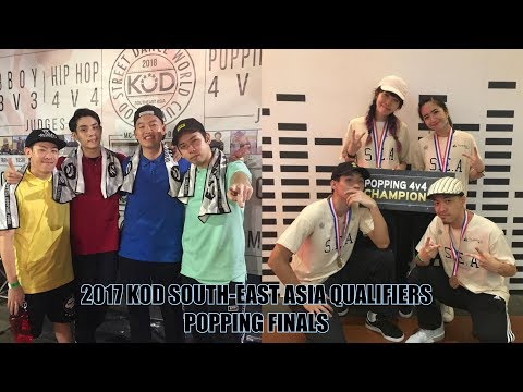 2017 KOD South-East Asia Qualifiers | Popping Finals | team Axis vs Pop Pop Cha