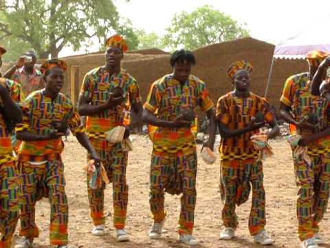 Welcome dance in the Upper East region of Ghana