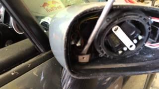 tt door mirror removal