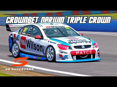 VASC: CrownBet Darwin Triple Crown (V8 Supercar in Automobilista)