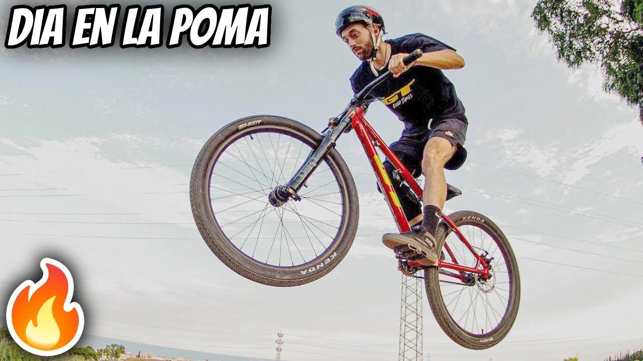 Probamos los NUEVOS saltos de La Poma Bikepark 🤯
