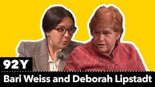 Bari Weiss and Deborah Lipstadt on anti-Semitism today
