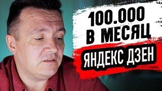 Заработай на Яндекс ДЗЕН.
