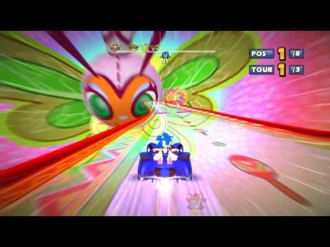 Sonic and Sega all star Racing Samba de Amigo