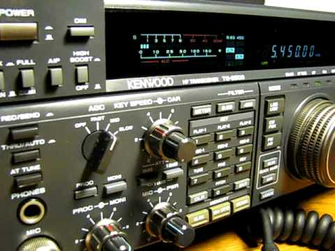Kenwood TS850s / Beacon 5450 Khz USB