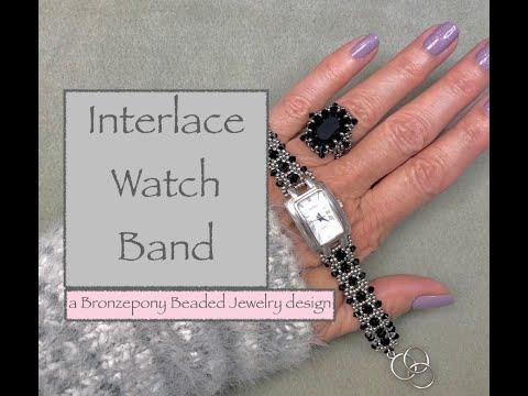Interlace Watch Band
