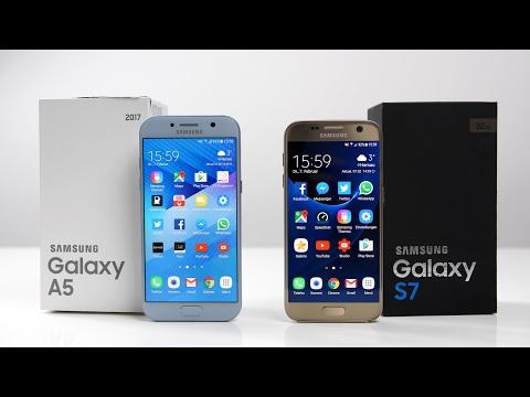 Samsung Galaxy A5 2017 vs. Galaxy S7 (Deutsch) | SwagTab