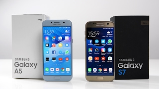 Samsung Galaxy A5 2017 vs. Galaxy S7 (Deutsch) | SwagTab