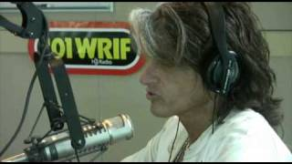 Joe Perry interview on Sturgis show - 101 WRIF Detroit - Meltdown