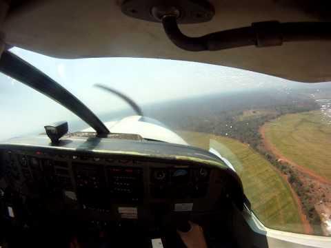 Take-off at Masstock Zambia on a Cessna 208 B.MP4