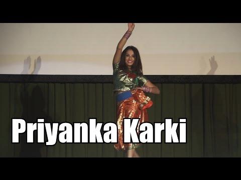 Priyanka Karki Dance (Surke Thaili Khai) Nepalese New Year 2073 Celebration UK