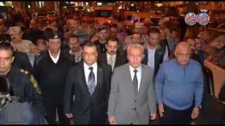 جنازة عسكرية للمجند نبيل محمد العسيلى بحضور محافظ بورسعيد ومدير الامنH8