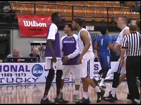Trevecca Men's Basketball   2016 G-MAC Quarterfinals vs ...