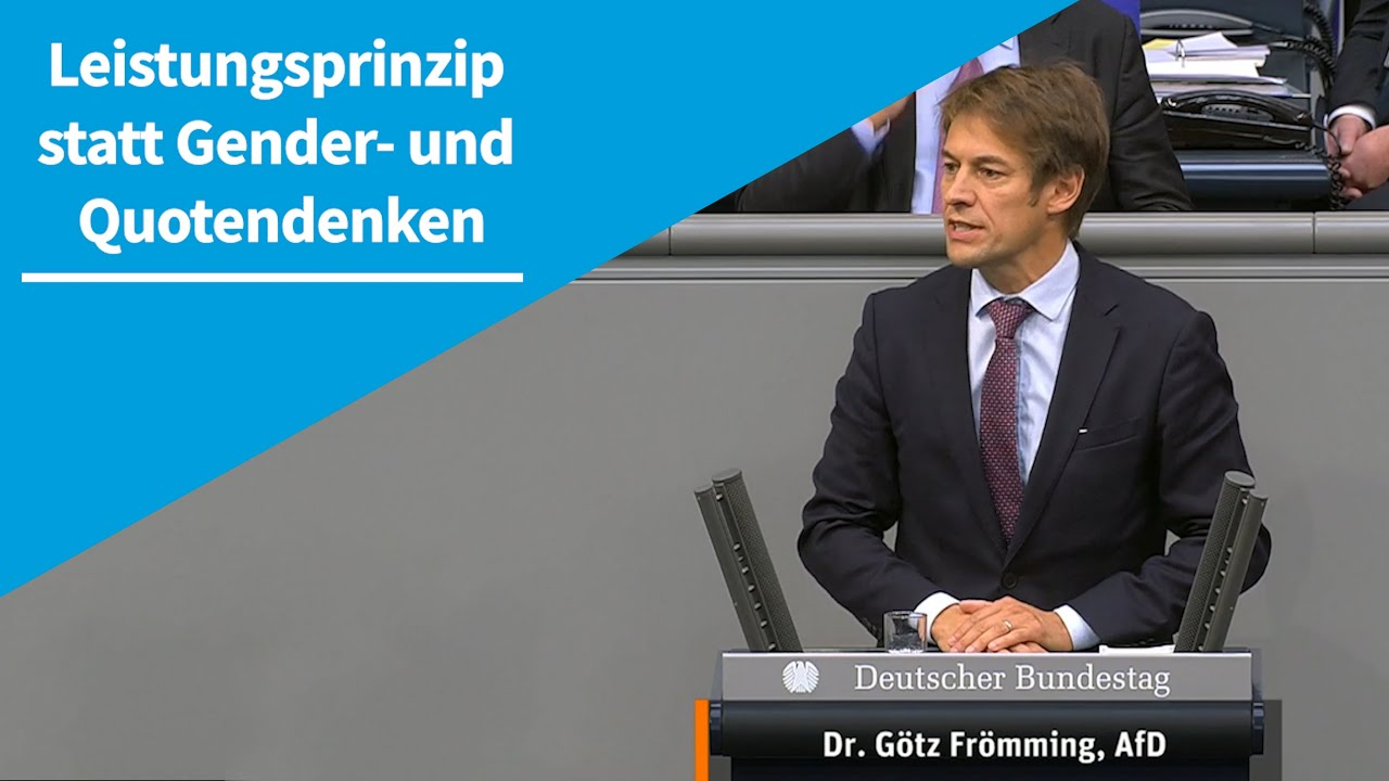 09.10.2020 Leistungsprinzip statt Gender- und Quotendenken