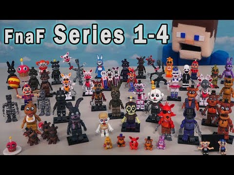 FNAF Mcfarlane Toys Ultimate Mini Figures Checklist All Series 1-4 Five Nights At Freddy's